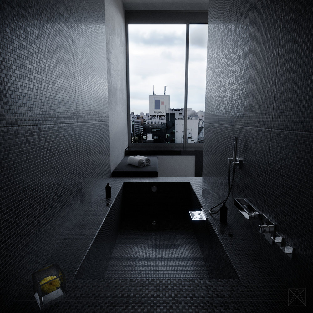 Created by Michael Tzanakakis, using the Tile and Concrete textures.