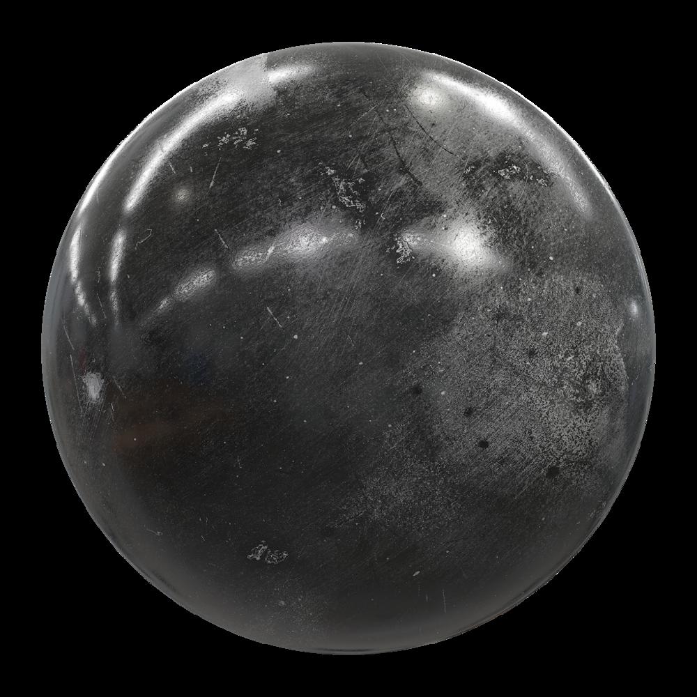 MetalPaintedBlackWorn001_sphere.png