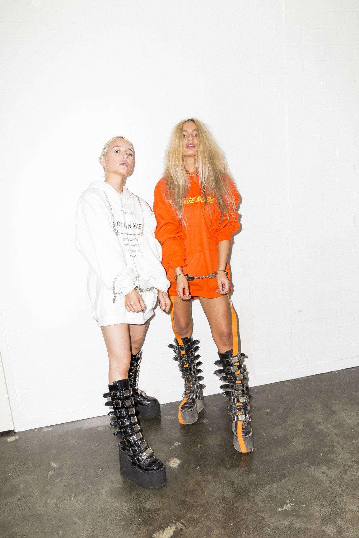 models @ hellocandice  and @suga_possum fresh in looks