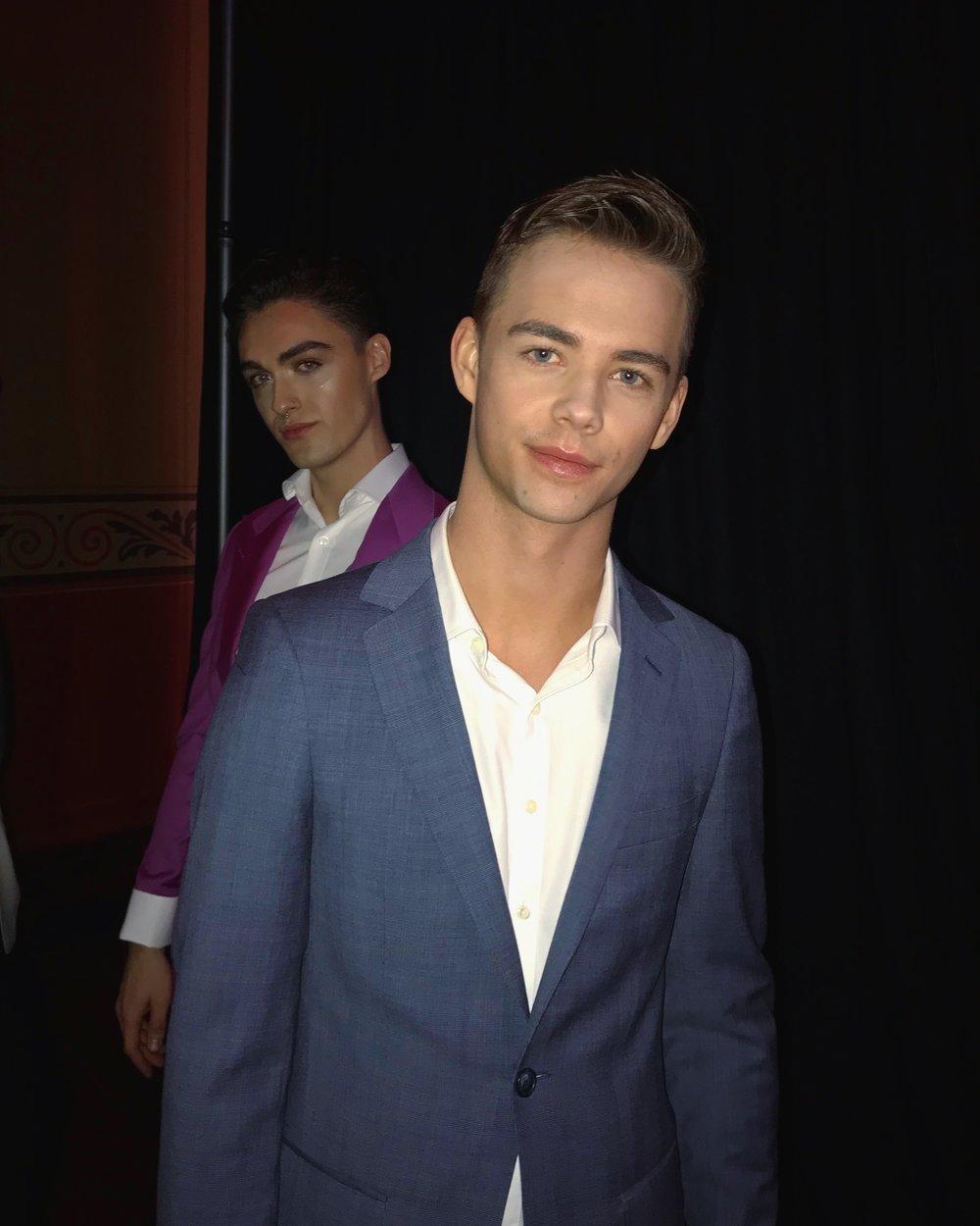 Nick & Oskar backstage
