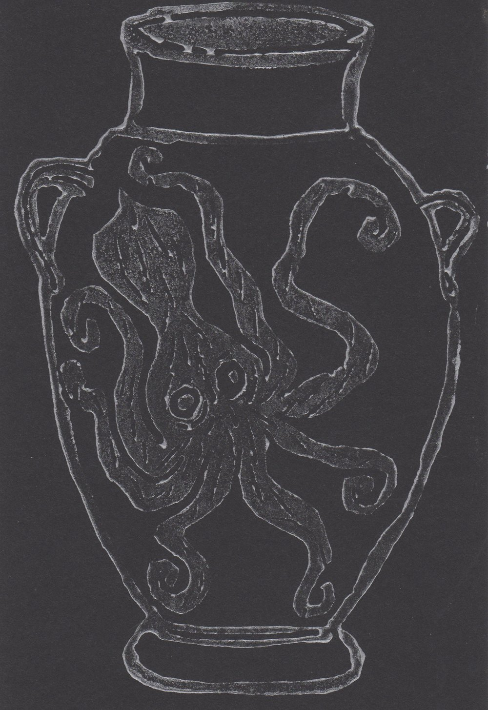 Septapus Amphora Print
