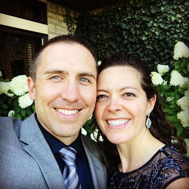 Congrats, Ellen & Chris!! 😍#HolyMackemony
