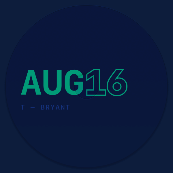 2016 08 — AUGUST