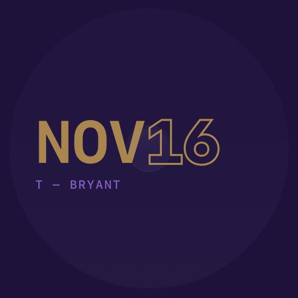 2016 11 — NOVEMBER