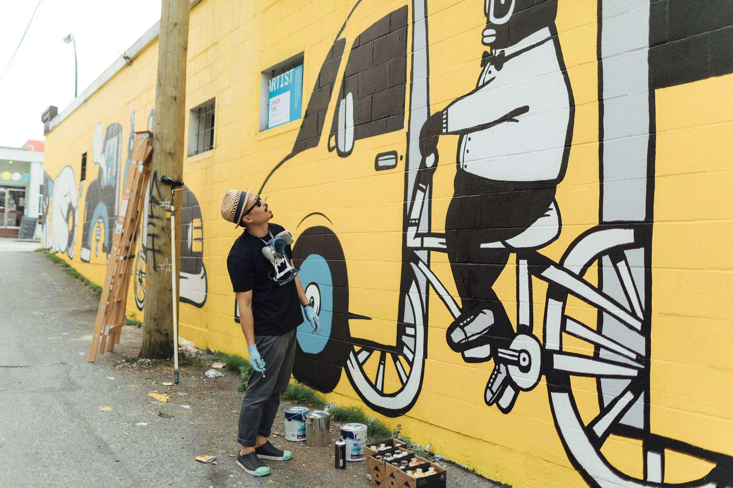Ride Wild\' - Vancouver Mural Fest 2017 — Chairman Ting Industries ...