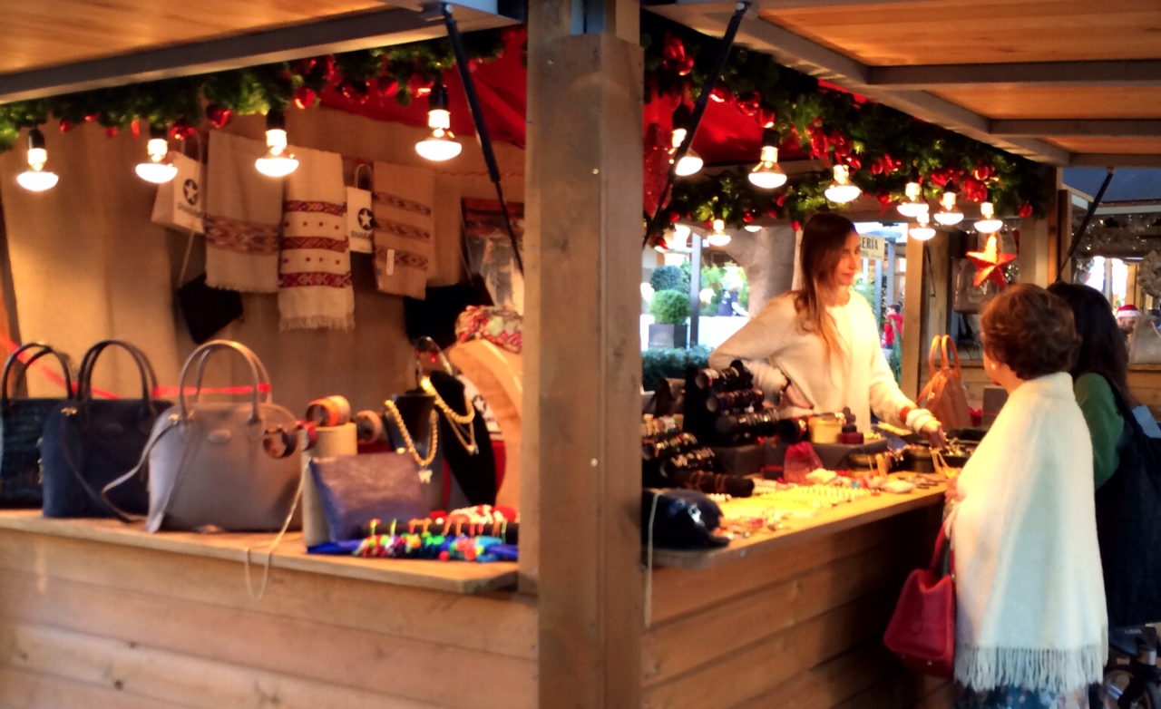 Malllorca Christmas Market - leather