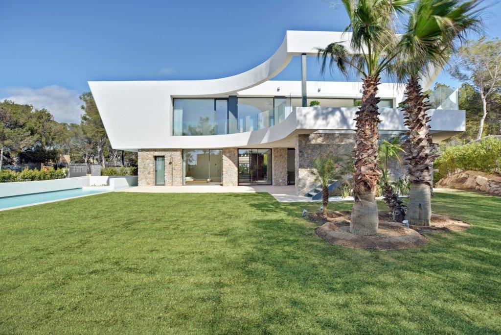 Mallorca, Majorca, villa, interior, design, architecture, seaview, modern, white, minimalist