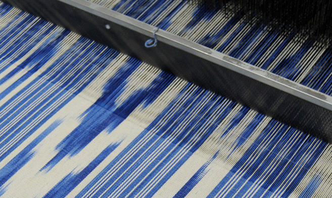 Mallorca, Majorca, ikat, textile, interior, fabric, decor
