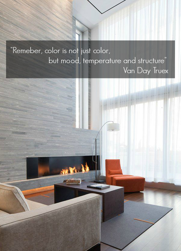 inspiration, quote, interior, design, interior design, color, structure, decor, van day truex, truex