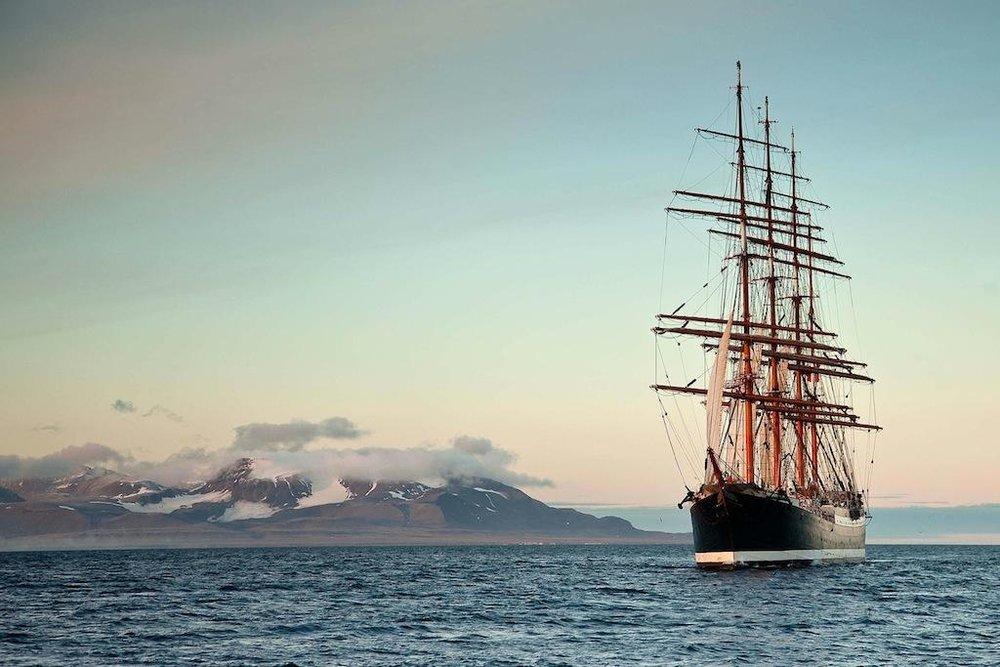 Sedov, ship, Palma, Mallorca, Palma de Mallorca, event, navigation