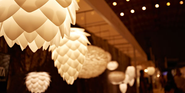 Vita Lamps at Signature Estate