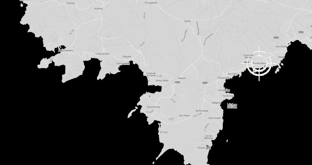 Portals Nous auf der Karte