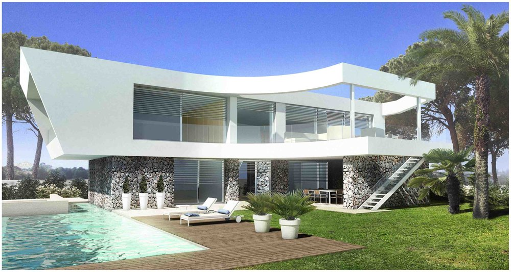 Works started at Malgrats Seven - the new contemporary sea view villa project