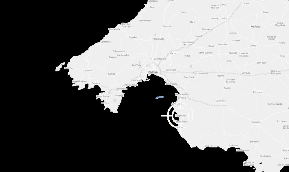 Puig de Ros auf der Karte