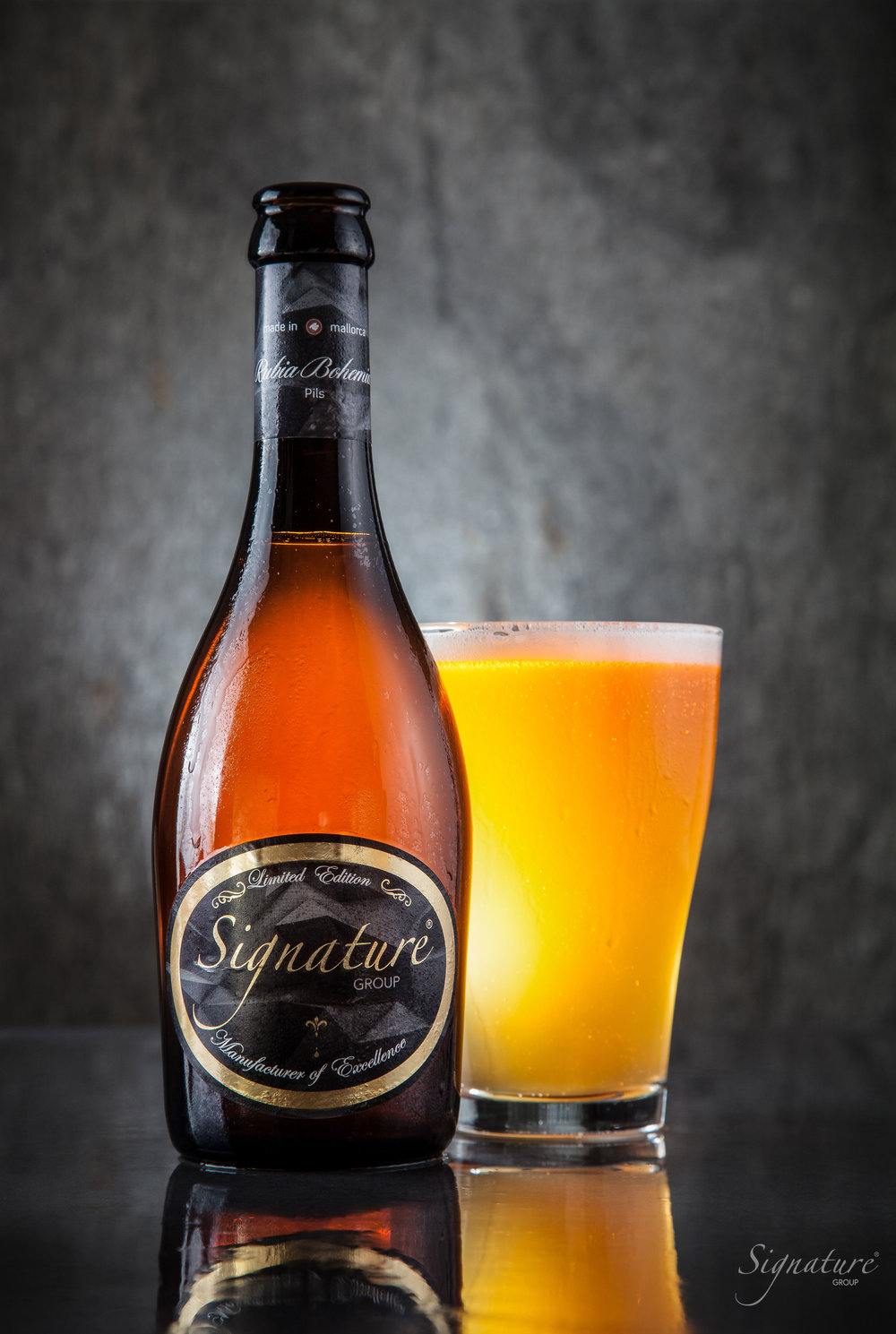 Signature Group Limited Edition Beer