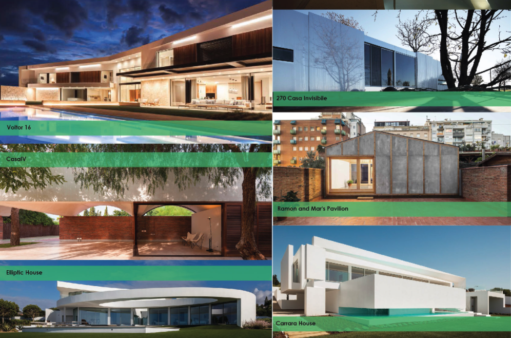 A selection of projects from the Europe Residential category.