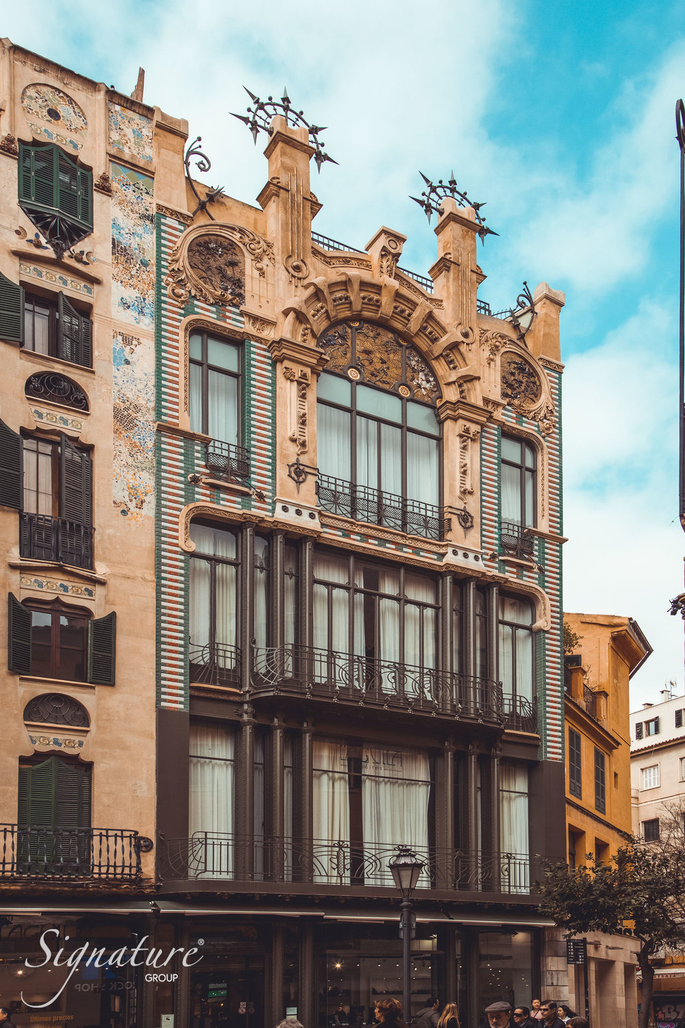 The architecture of Palma de Mallorca - Emblematic buildings