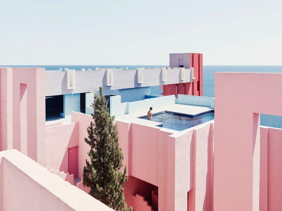 La Muralla Roja -Calpe, Espagne