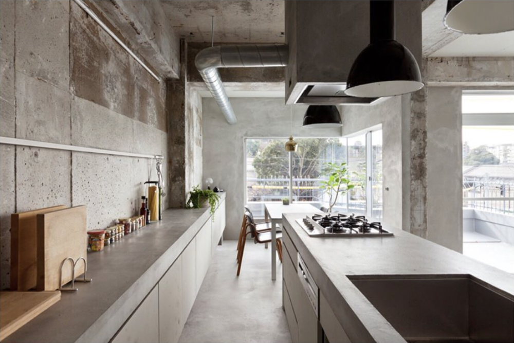 "Kraft.da - ""Renovated concrete apartment in Nagoya, Japan by Ogaki-based studio Airhouse Design Office  @keiichi_kiriyama """