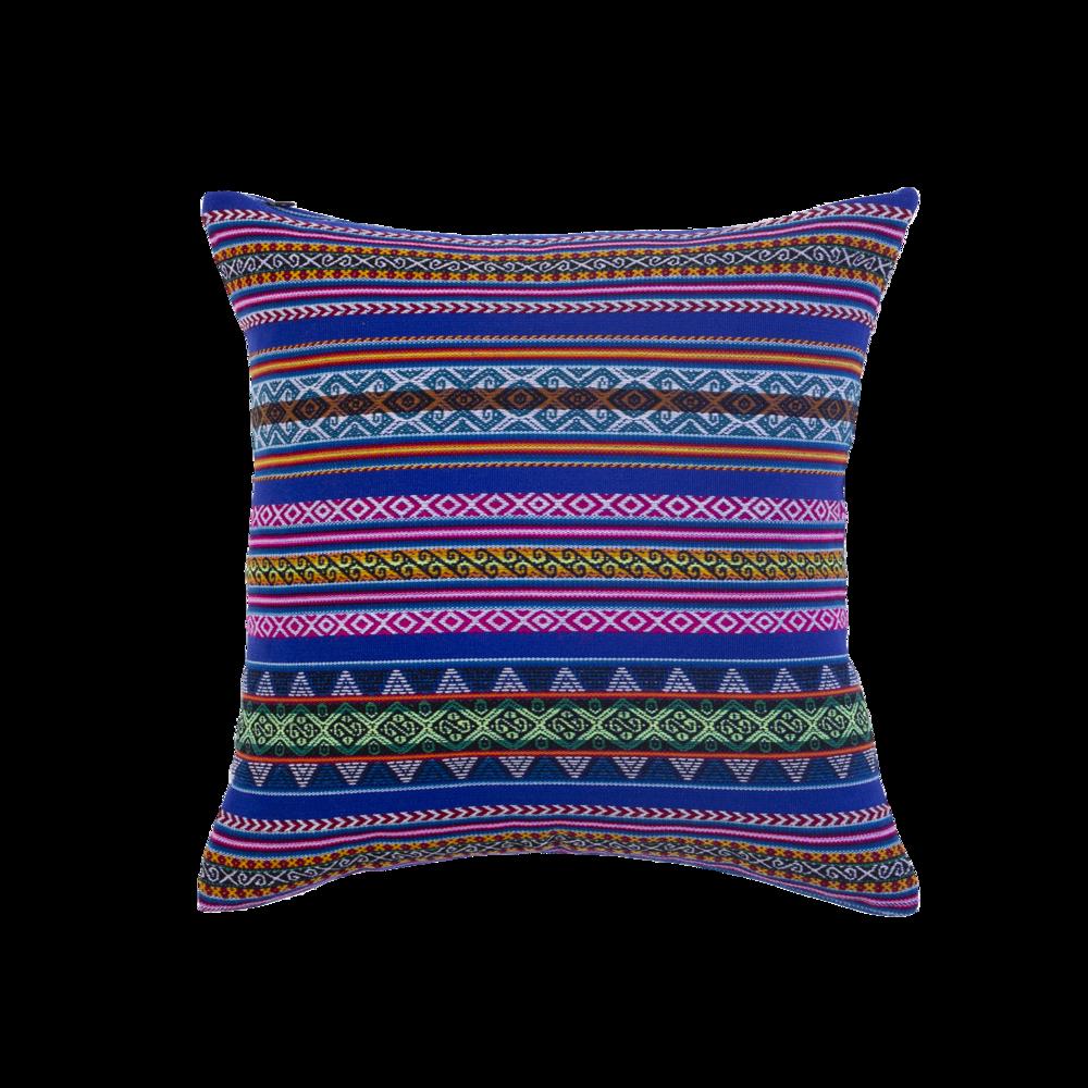 Cuzco Bleu Roi - Carré - Coussin 43x43cm50€