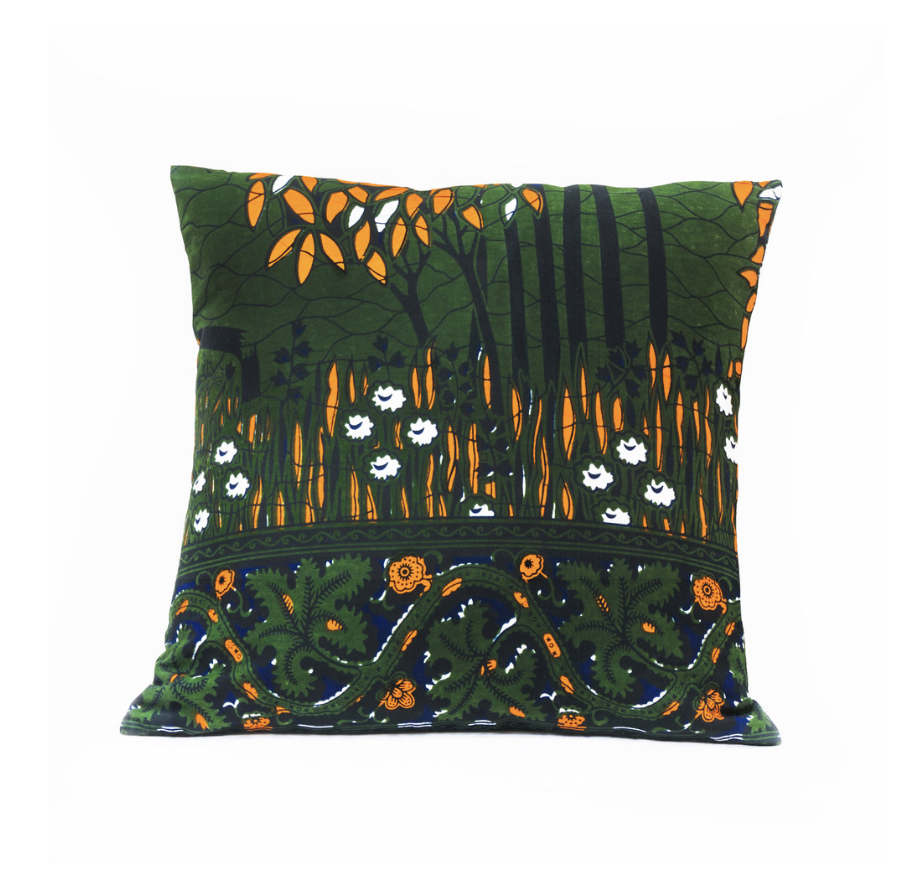 Forêt Orange - 43x43cm - 37,5€