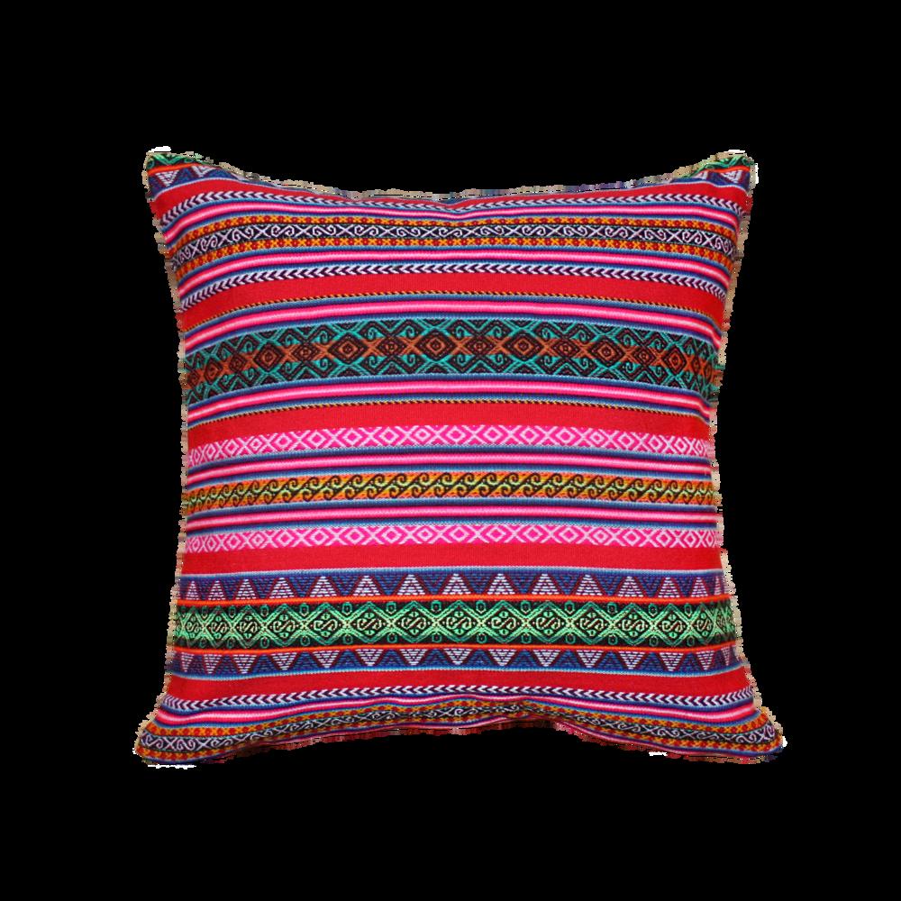 Cuzco Rouge - Carré - Coussin 43x43cm50€