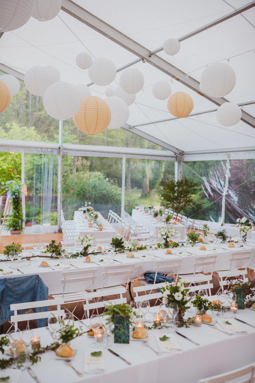 Centre de table - Déco de mariage personnalisée - Adjamée