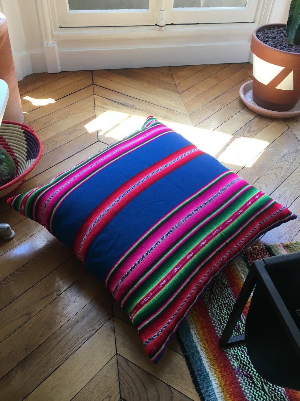 Titicaca Bleu - 94€ - 70x70cm
