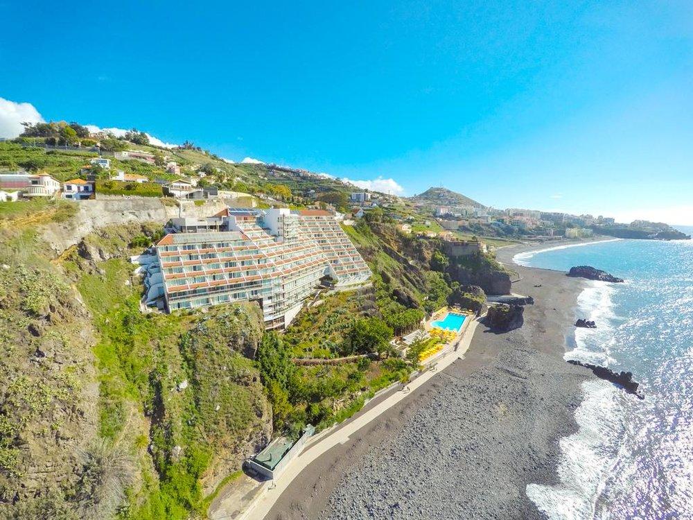 Ons hotel gedurende deze reis - Hotel Orca Praia