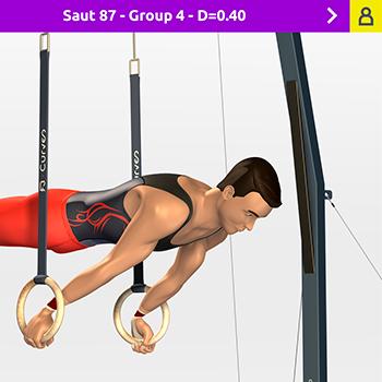 FB Curves </br> 3D Gym Appli de formation, apprentissage et entrainement </br> Interactif