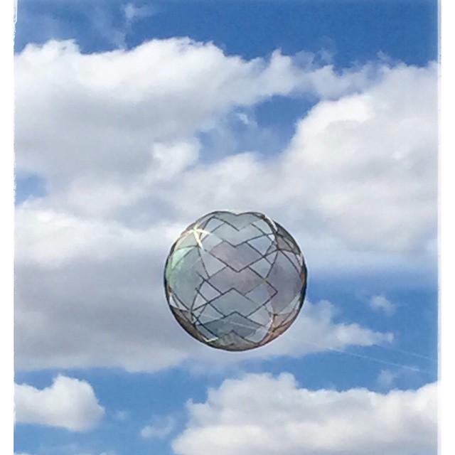 Found this amazing floating sphere in Canberra. #love the way it just floats #socialimpact #realstore