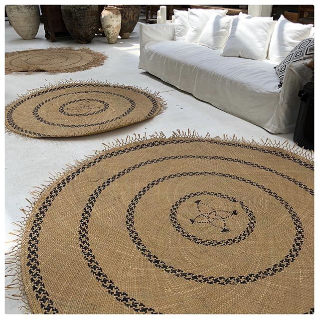We have a few of these mats available but they can be made to order sizes are 1.6mt $480 and 2.2mt $695. They are a collaboration with @considered_byreal and the @katalystfoundation #fiji made from natural fibre #sustainable #design #design4good #realimpact #considered #highimpact