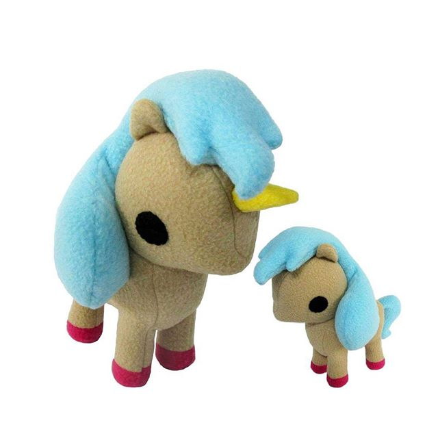 Updated my pony pattern. Bigger hair and a unicorn option! #unicorn #pony #chebeto #plushie #horse