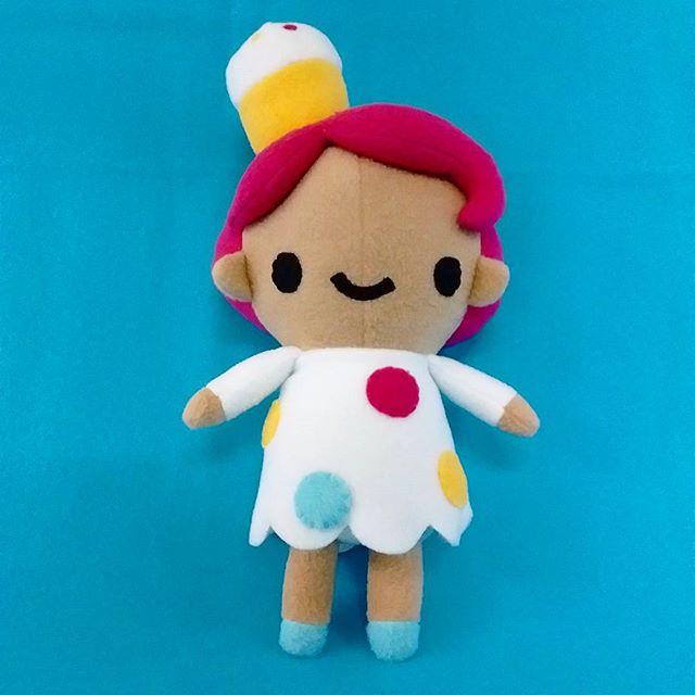 Cupcake girl. #cupcakes #plush #doll #chebeto