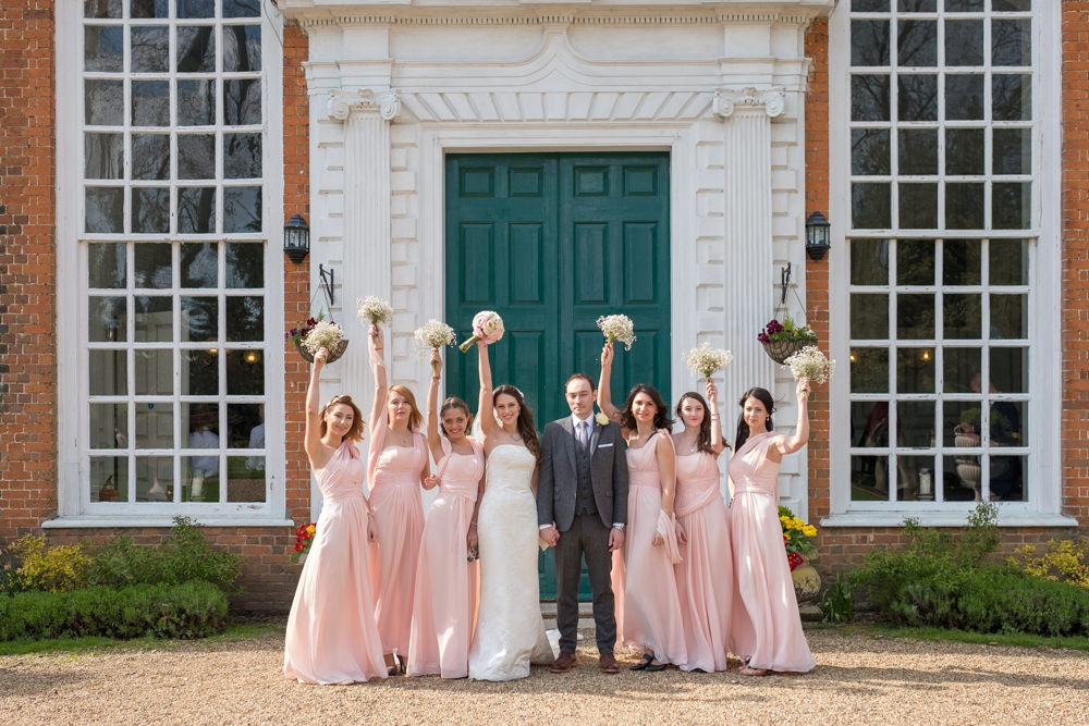 Gosfield Hall wedding photography, Essex