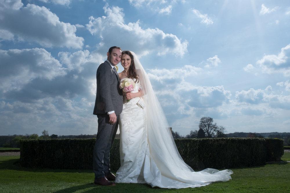 Gosfield Hall wedding photograph