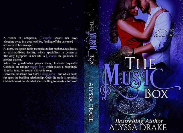 """COVER REVEAL + PRE-ORDER!  I had so much fun with Alyssa Drake on the cover of her upcoming book """"The Music Box"""" that will be released on Feb 19th.  Isn't it a beauty? It honestly makes me stop and stare for a few minutes 😍😍😍 BLURB ⬇⬇ """"A victim of obligation, Gabrielle spends her days slogging away in a dead-end job, fending off the unwanted advances of her manager. At night, she spoon-feeds memories to her mother, a resident at an assisted-living facility, which specializes in dementia.  The only high-point in her life is Luciano, the grandson of another patient. When his grandmother passes away, Luciano bequeaths Gabrielle an antique music box, which plays a hauntingly familiar tune, her mother's favorite song."""" You should pre-order it ASAP ;) . . . can't wait to add this paperback on my shelf. #swoon PRE ORDER ➡➡➡ http://amzn.to/2EMimP9"""