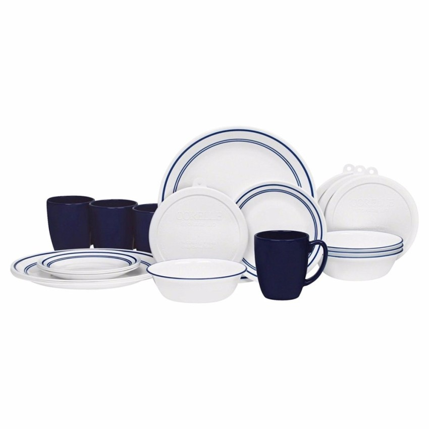 43 POINTS    REDEMPTION CODE: G04   Corelle 20 Piece Livingware Dinnerware Set