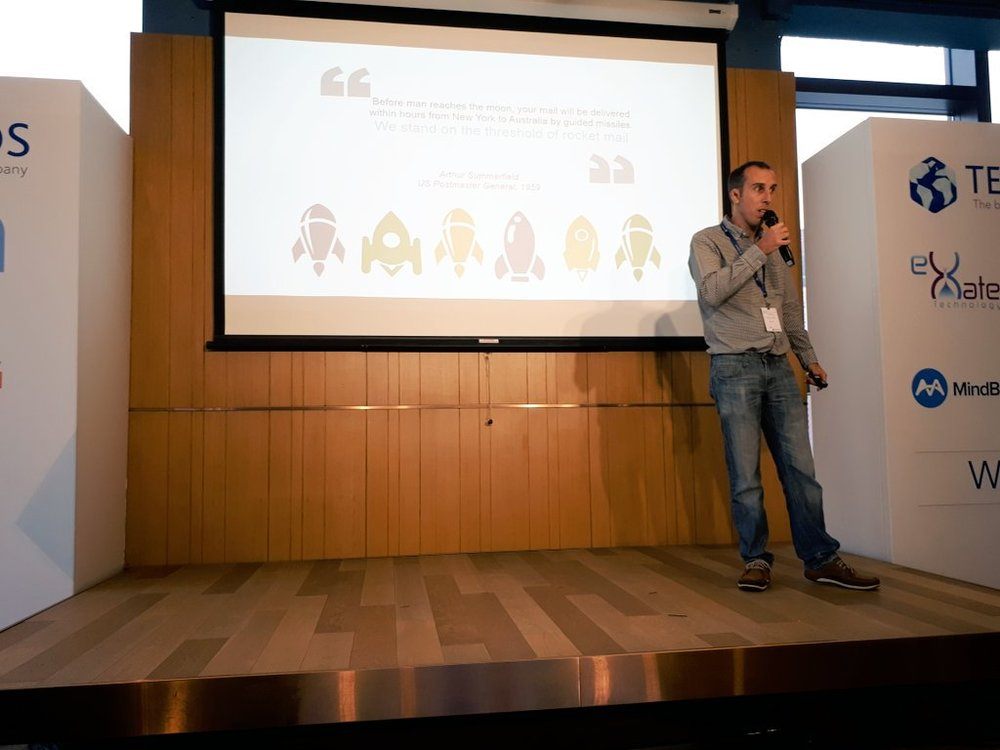 Copy of CTO Vincent as guest speaker at Temenos Innovation Jams 2018 (Hong Kong)