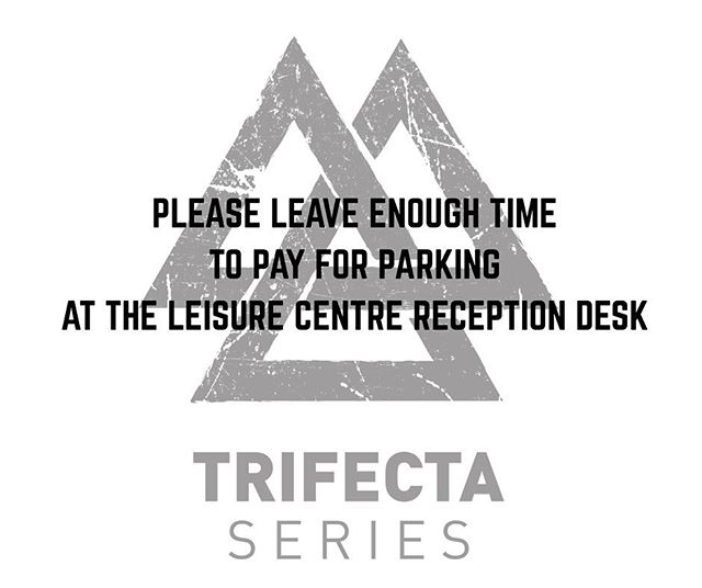 PLEASE LEAVE ENOUGH TIME TO PAY FOR PARKING AT THE LEISURE CENTRE RECEPTION