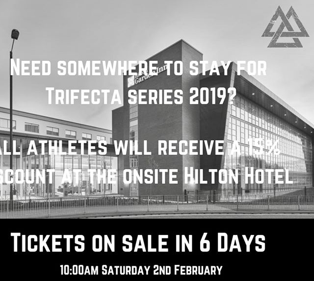 Hilton Hotel discounts for athletes and Staff!
