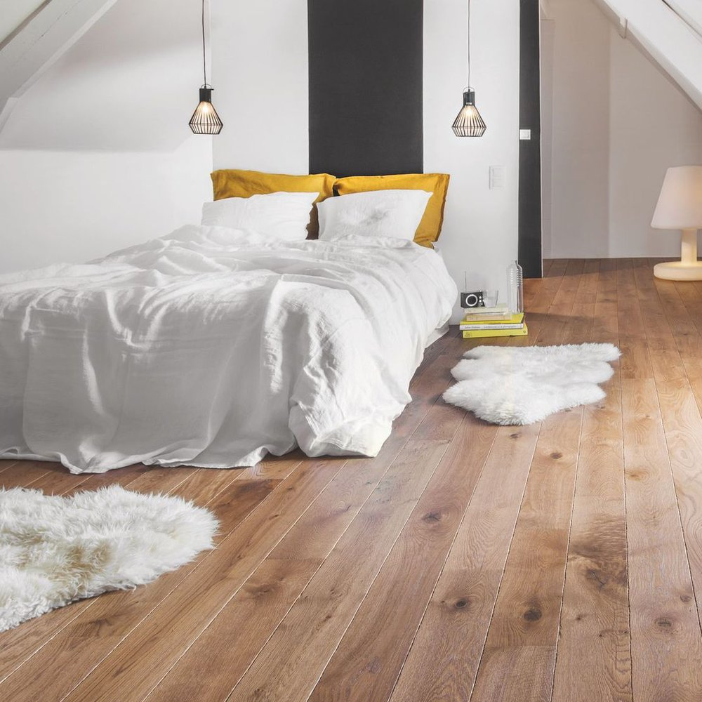 Placez du parquet ou du plancher, revêtement de sol favori des locataires
