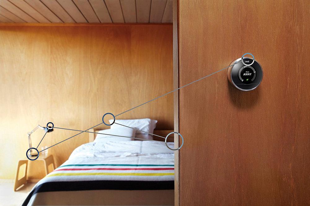 Nest, le thermostat intelligent vous aide à réguler automatiquement la température de votre bien et vous fait faire des économies