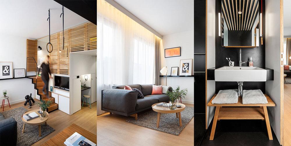 Les meubles sur mesure vous feront gagner des précieux mètres carrés