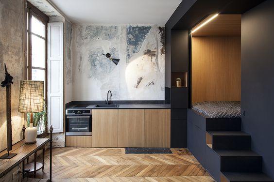 Créez des espaces au sein de la pièce pour partitionner les différents lieu de vie