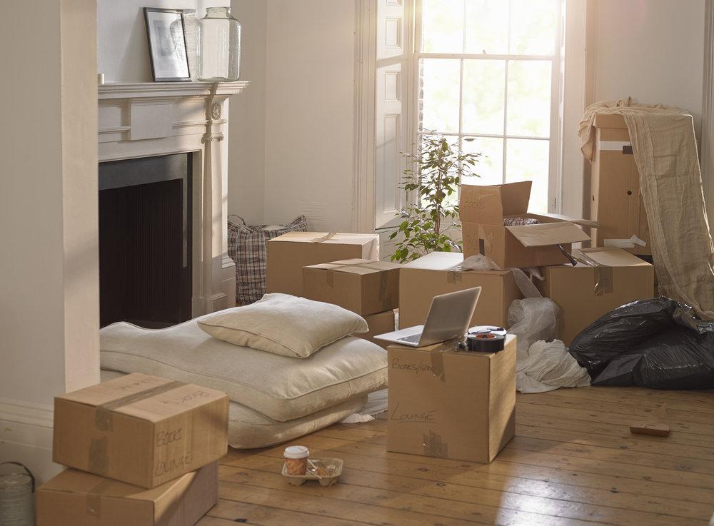 Annotez vos cartons avec la pièce de destination dans votre nouvelle habitation