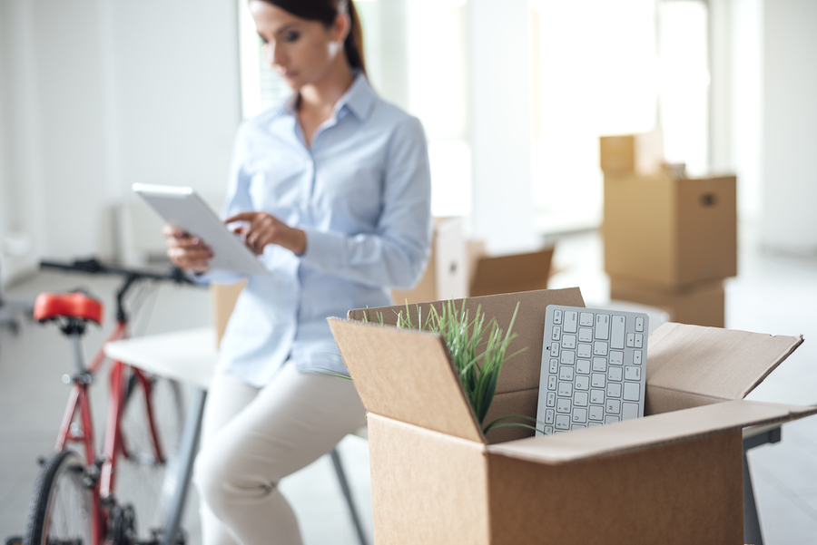 2 semaines avant le jour J, commencez à mettre vos meubles et objets en caisses