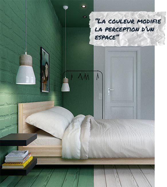 La couleur modifie la perception d'un espace