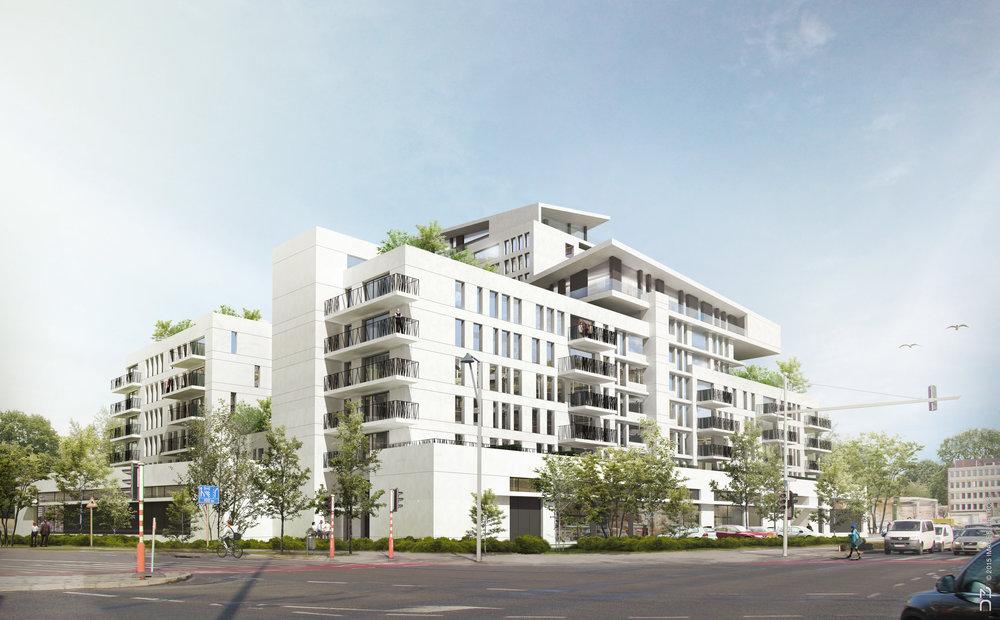 le projet  Nautilus  à Anderlecht, commune souveraine pour l'investissement immobilier