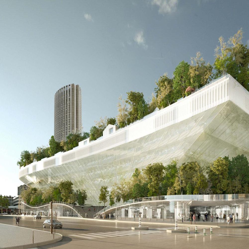 Une ville plus verte et conçue verticalement - La cité de demain promet aussi de faire la part belle à la biodiversité et d'être plus économe en termes d'énergie. Au delà des initiatives ...